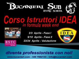 corso Istruttori sub IDEA